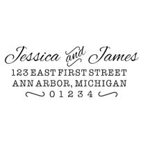 bonnie marcus couple's address stamp