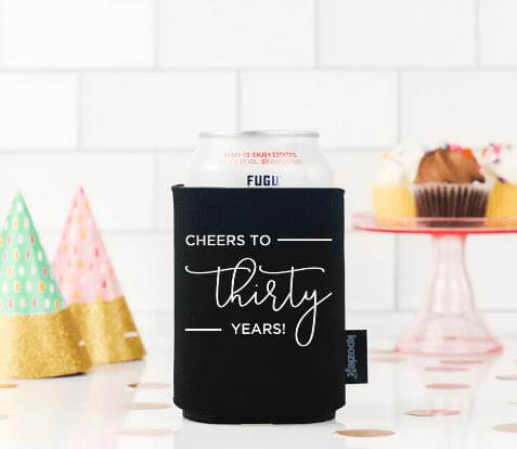 Birthday Koozie Drink Cooler