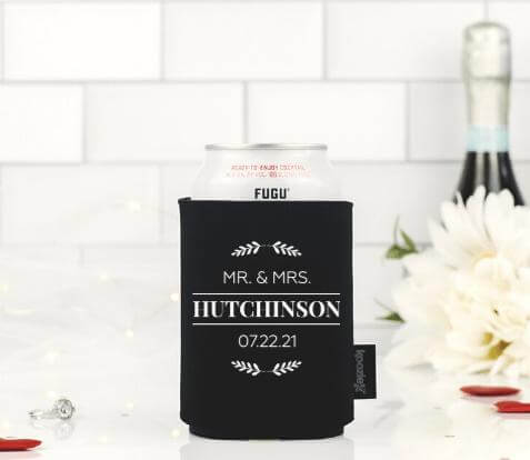 Wedding Koozie Drink Cooler
