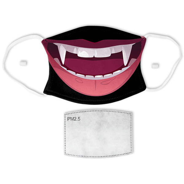 Vampire Adult Face Mask