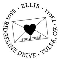 taylor elliott snail mail address stamp